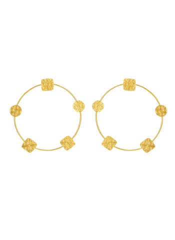 HARAPPAN SEAL HOOPS - the monotony of regular hoops
