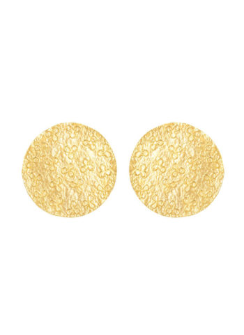 ROYAL ROBE PATTERN EARRINGS - Mohenjo Daro pattern