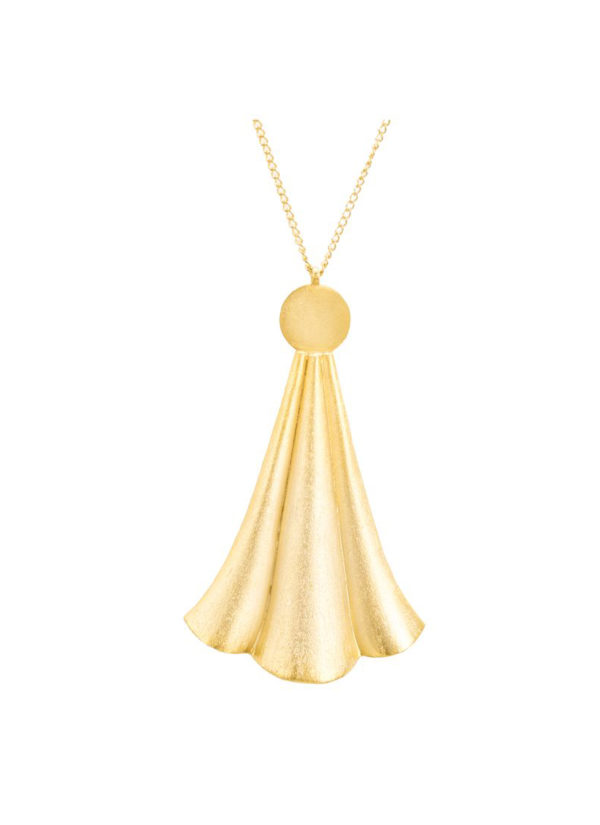 Enigma Necklace - Handcrafted with gold plating