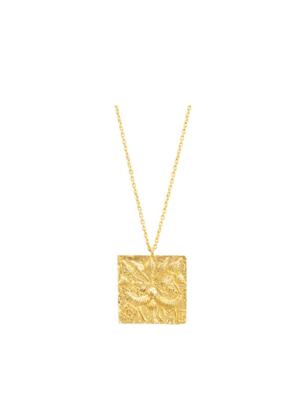 RUDRA NECKLACE HANDCRAFTED IN BRASS