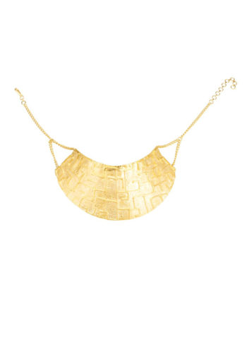 DHOLAVIRA CHOKER - finished with gold plating