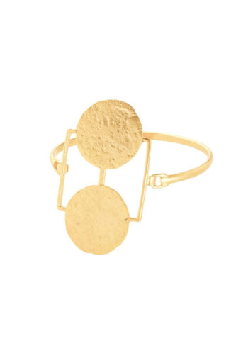 gold plated mismatch bracelet