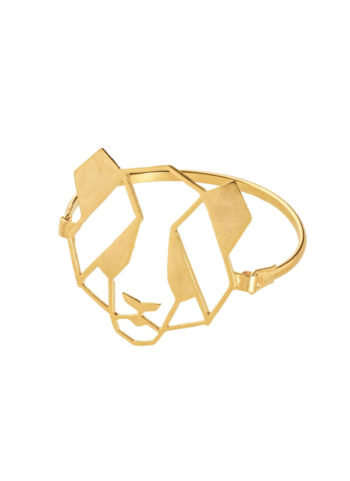 PANDA BRACELET - crafted with gold plating