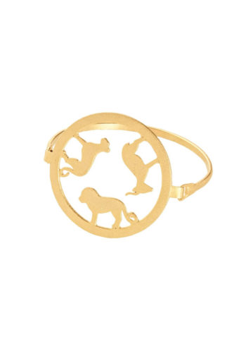 AMARE BRACELET - Bracelet with animal silhouettes